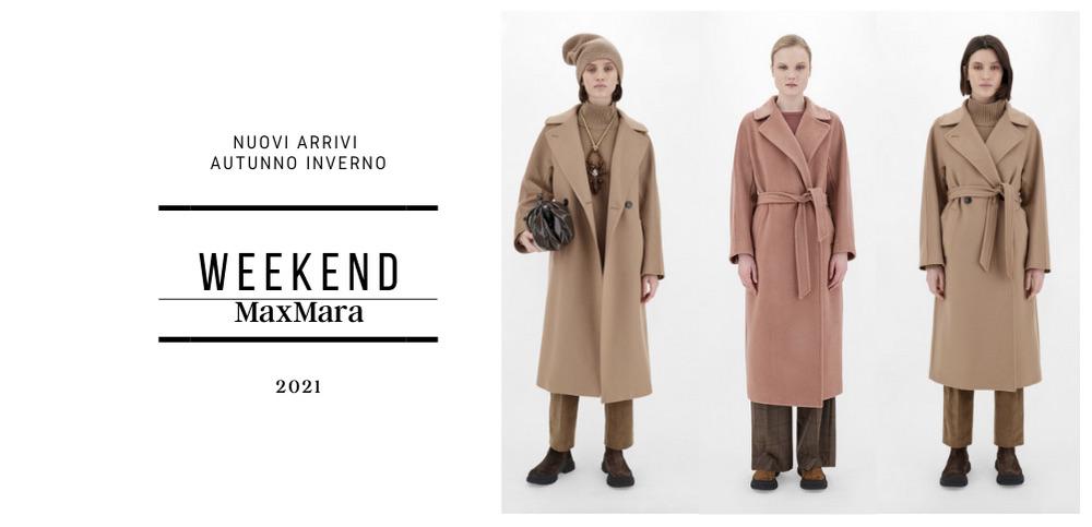 Week End MaxMara cappotti nuovi arrivi Lardieri Store